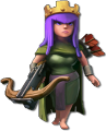 Archer Queen from Clash of Clans