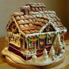 Icing on a Gingerbread House